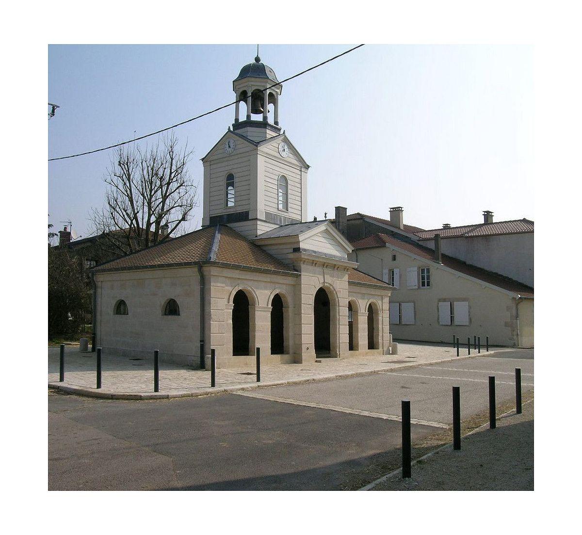 Echenay - Lavoir (Tour-horloge) (52) [1]