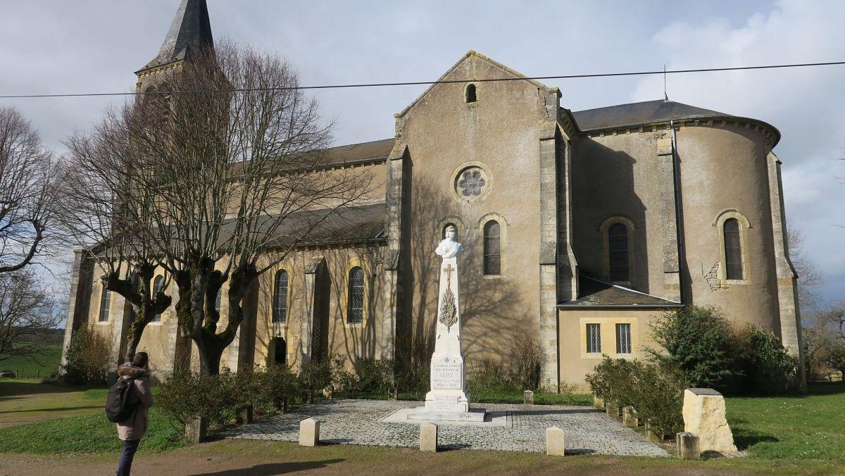 Guipy - Eglise Saint-Germain d'Auxerre (58) [1]