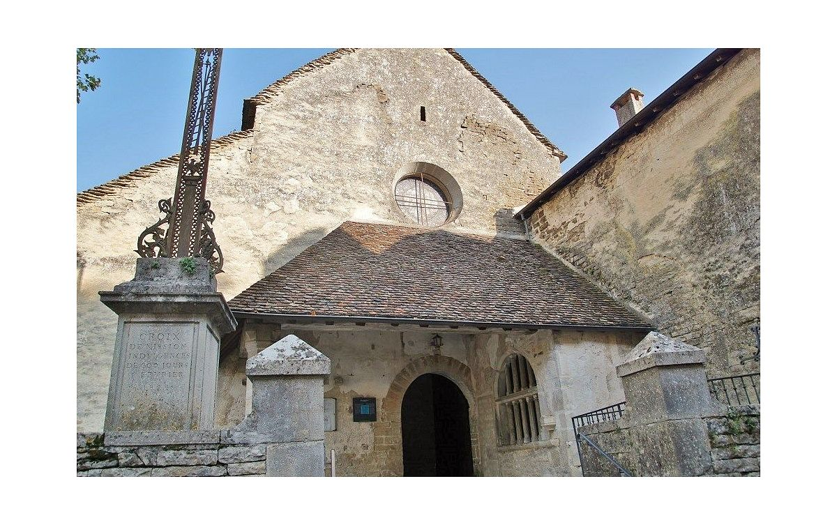 Chateau-Chalon - Eglise (39) [1]