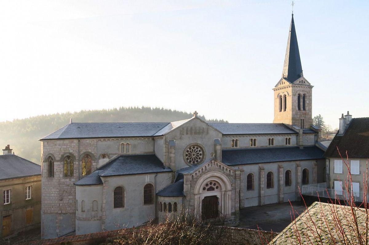 Saint-Léger-sous-Beuvray - Eglise St-Léger (71) [1]
