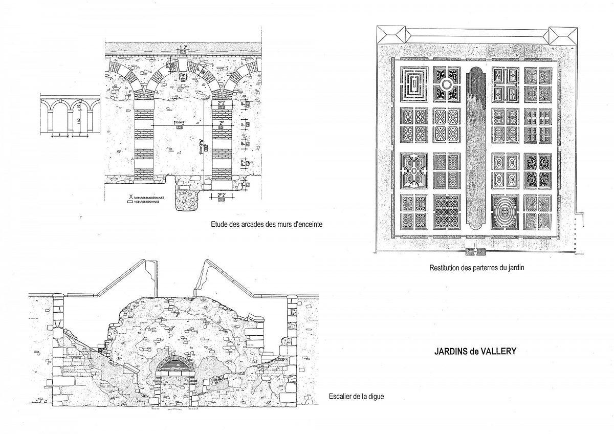 Vallery - Château - les jardins (89) [1]