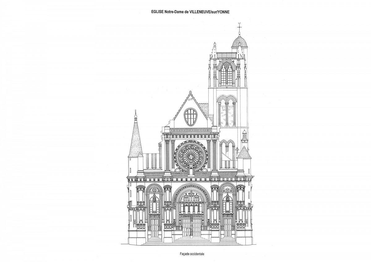 Villeneuve-sur-Yonne - Eglise Notre Dame (89) [1]