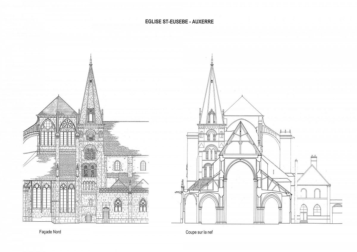 Auxerre - Eglise St-Eusebe (89) [1]