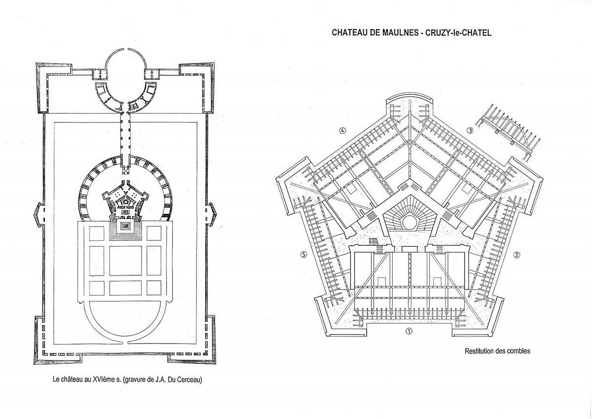 Cruzy-le-Chatel - Chateau de Maulnes  (89) [1]