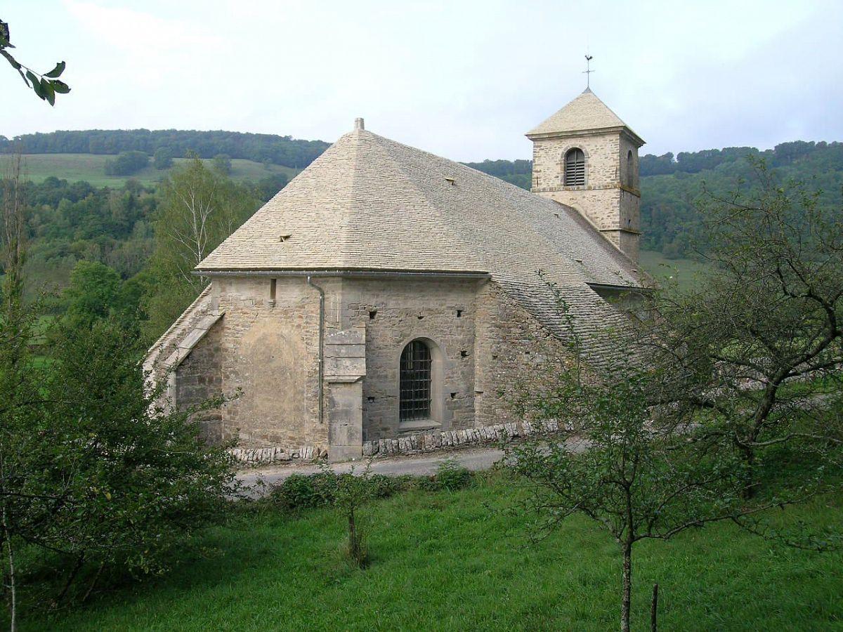 Baume-les-Messieurs - Eglise St-Jean-Baptiste (39) [1]