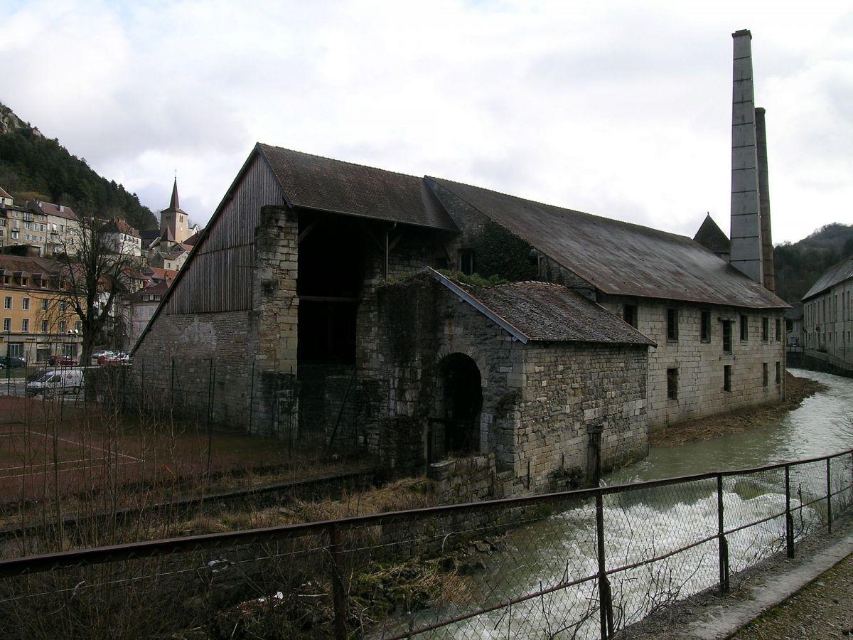 Salins-Les-Bains - Salines Royales (39) [1]