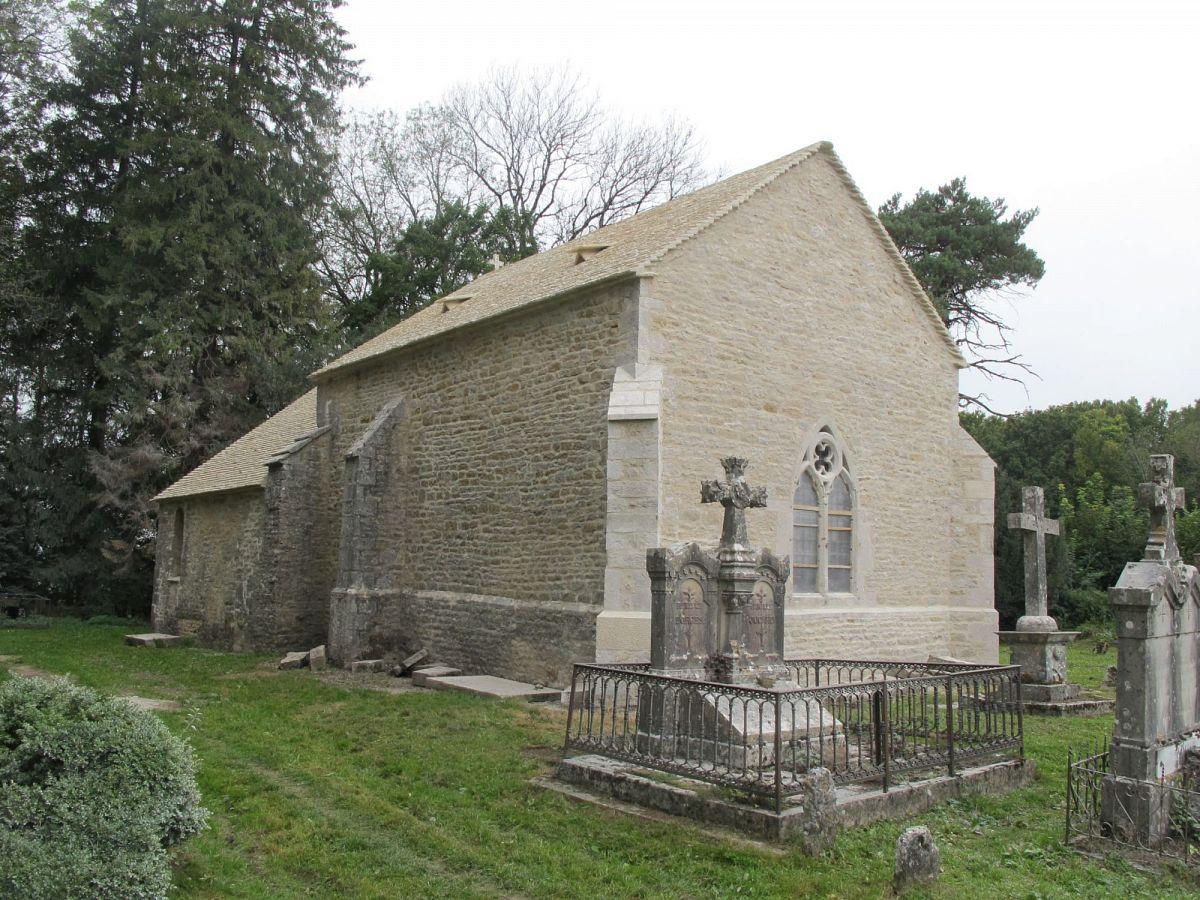 Perrigny - Chapelle St-Etienne de Coldre à Briod (39) [1]