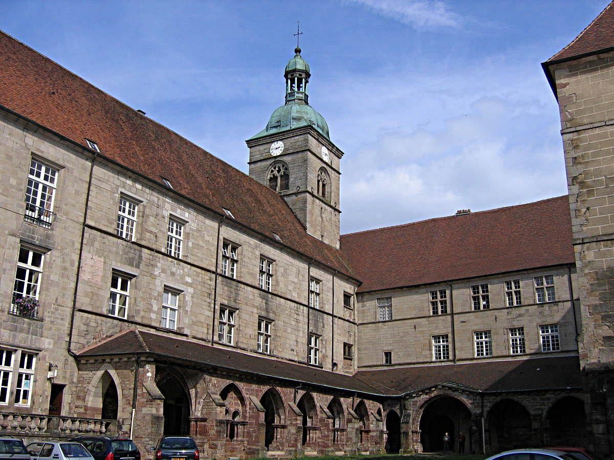 Luxeuil-les-Bains - Eglise et Séminaire St-Colomban (70) [1]