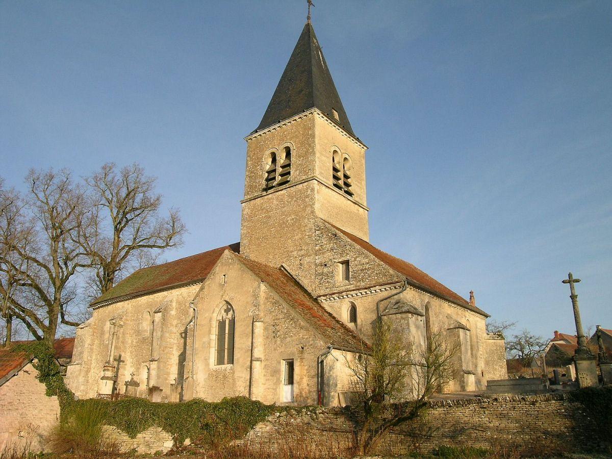 Poiseul-la-Ville-et-Laperrière - Eglise St-Victor (21) [2]