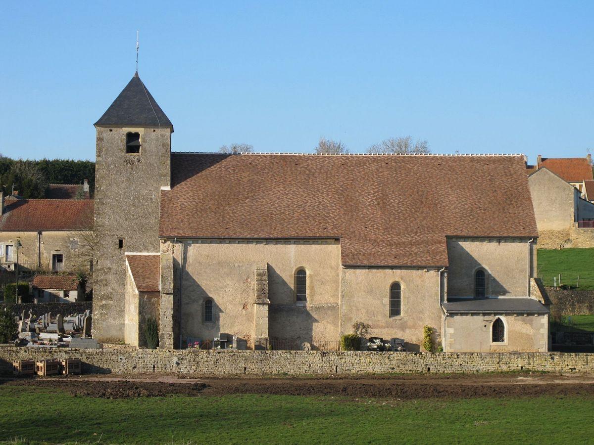 Teigny - Eglise Saint-Nazaire et St-Celse (58) [1]