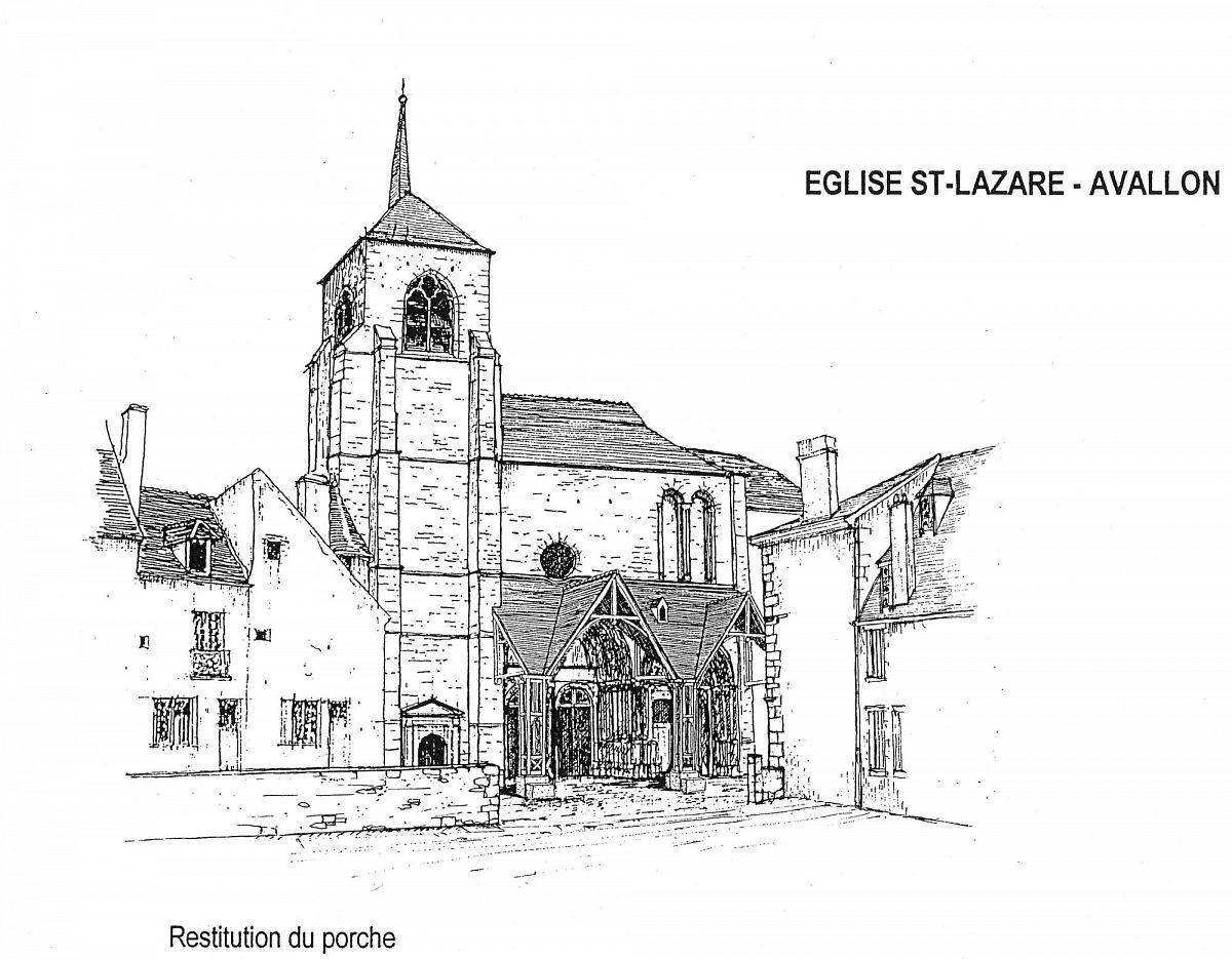 Avallon - Eglise St Lazare (89) [1]