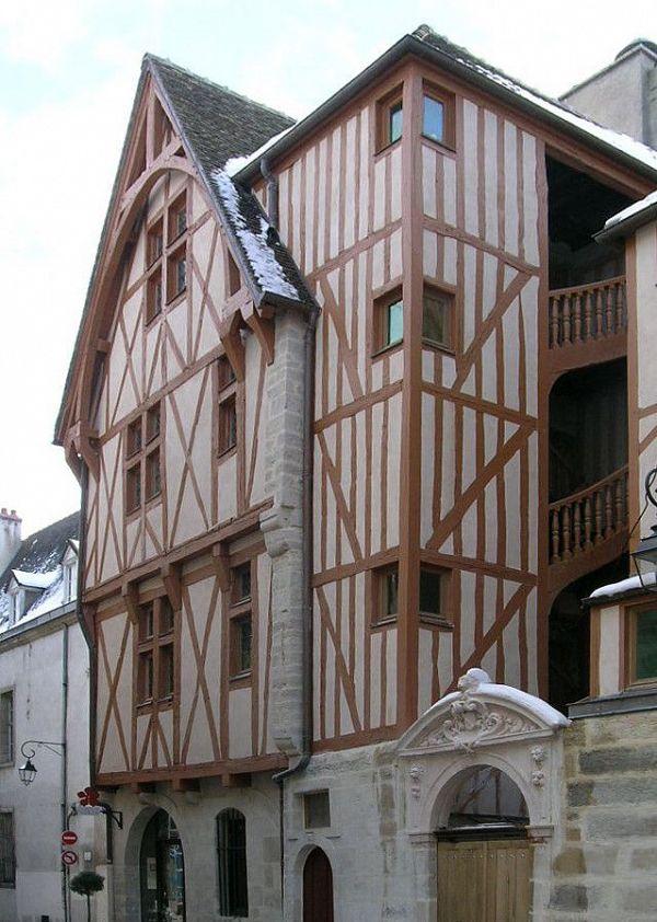 Dijon - Maison à Pan de Bois (21) [3]