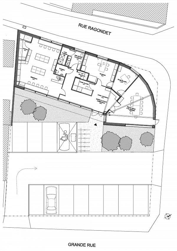 Champdôtre - Locaux de la Mairie et Bibliothèque (21) [1]