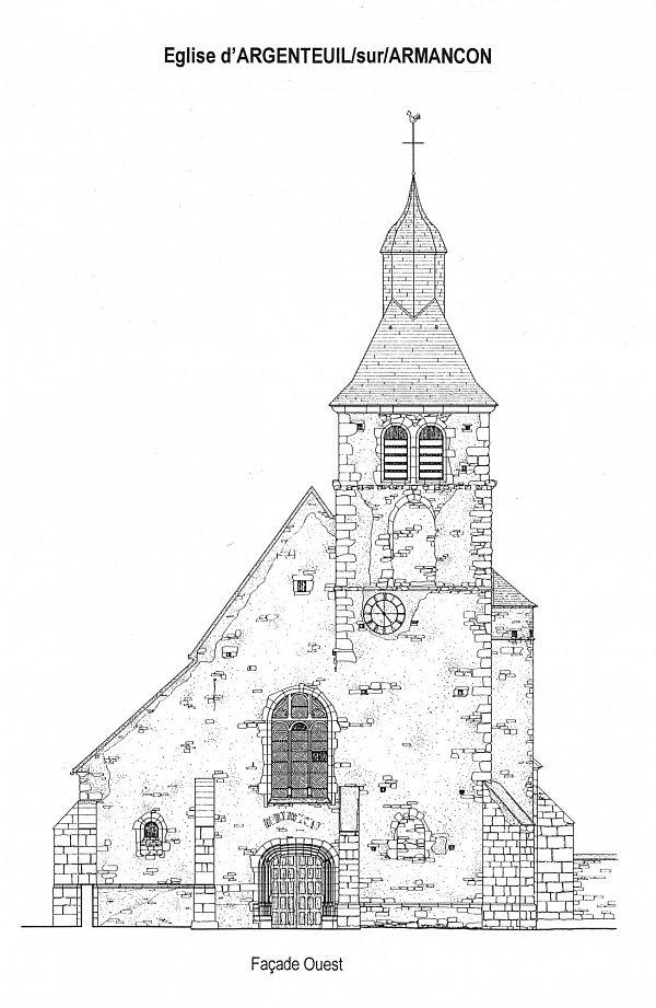 Argenteuil sur Armançon - Eglise (89) [1]