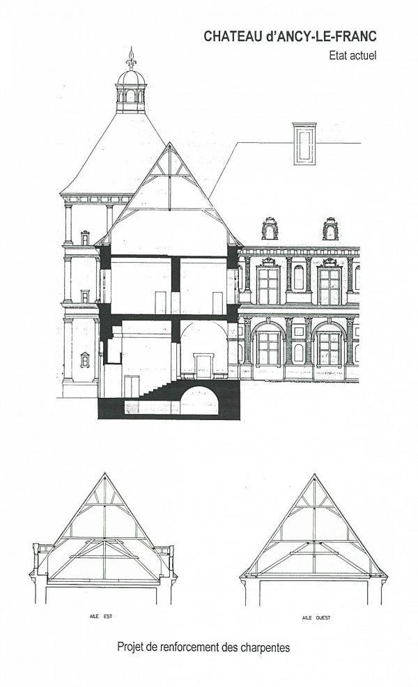 Ancy-le-Franc - Château (89) [1]