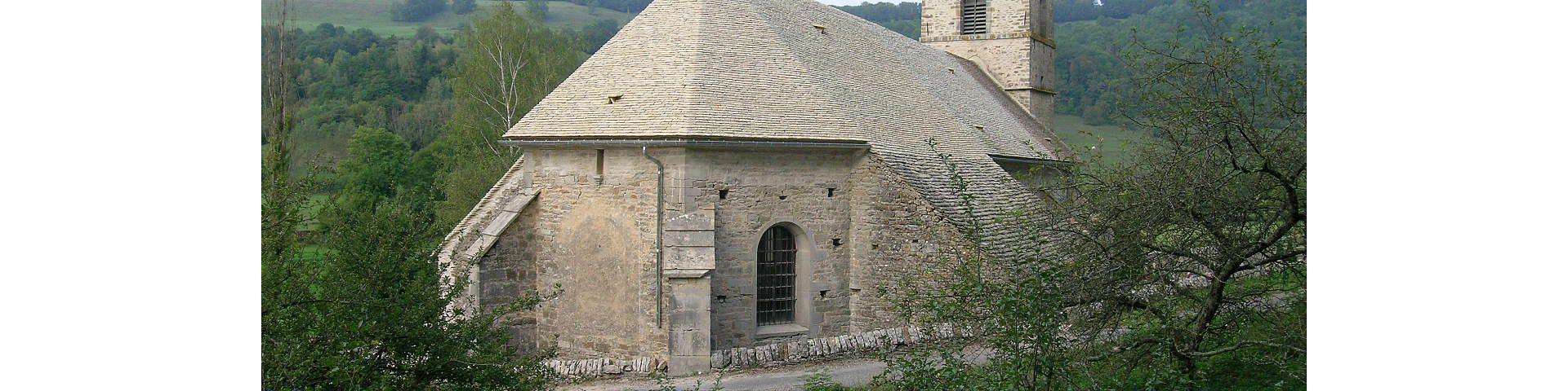 Baume-les-Messieurs - Eglise St-Jean-Baptiste (39)