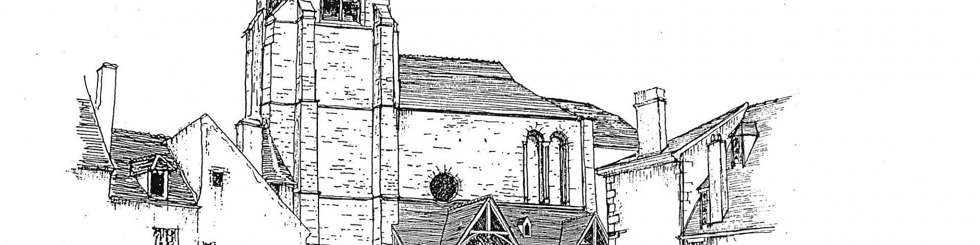 Avallon - Eglise St Lazare (89)