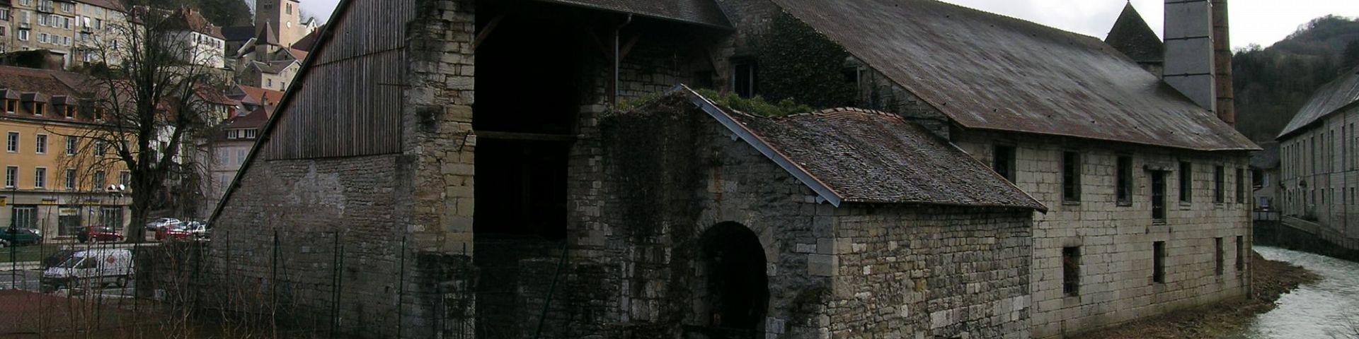 Salins-Les-Bains - Salines Royales (39)