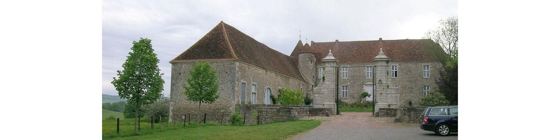 Ecutigny - Château (21)