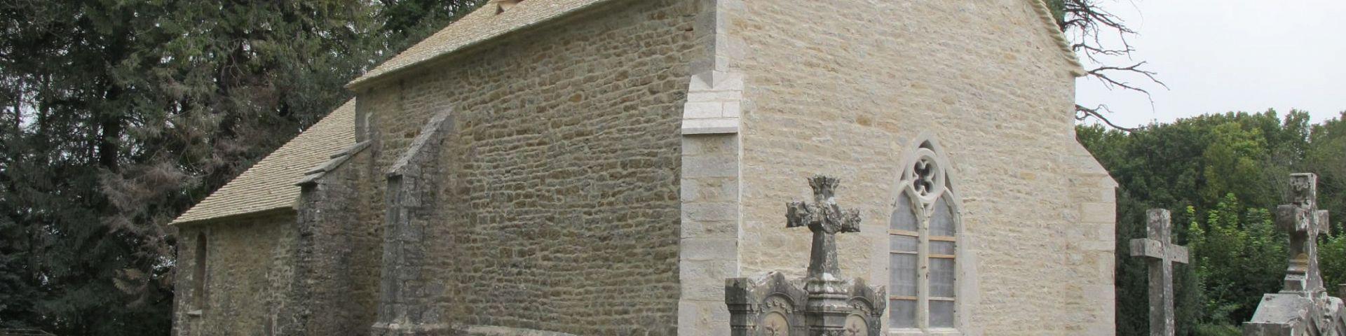 Perrigny - Chapelle St-Etienne de Coldre à Briod (39)