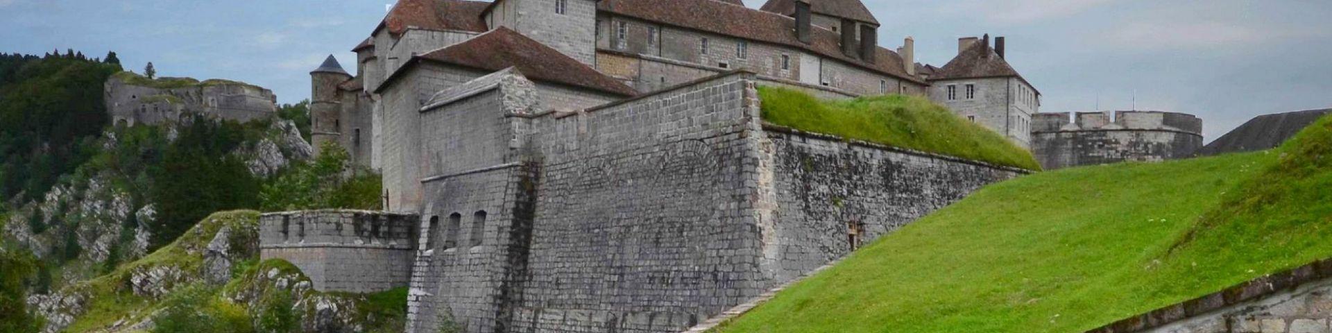 La Cluse-et-Mijoux - Fort de Joux (25)