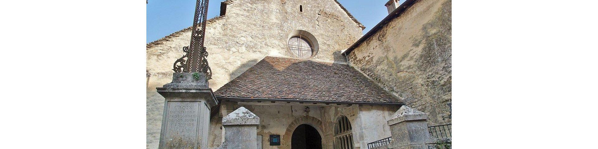 Chateau-Chalon - Eglise (39)