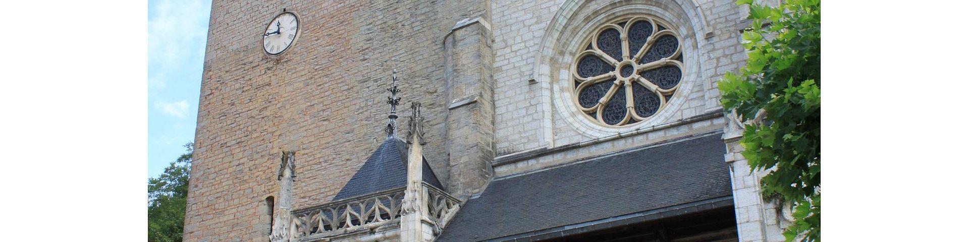 Salins-les-Bains - Eglise St-Anatoile (39)