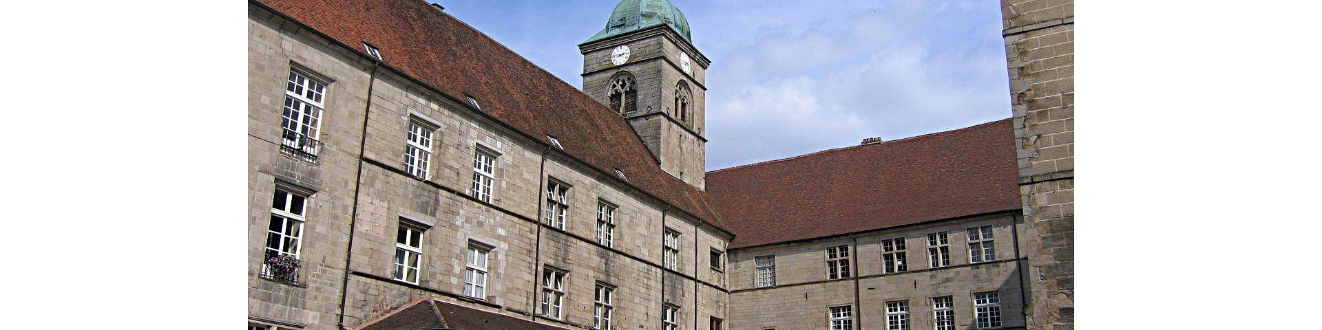 Luxeuil-les-Bains - Eglise et Séminaire St-Colomban (70)