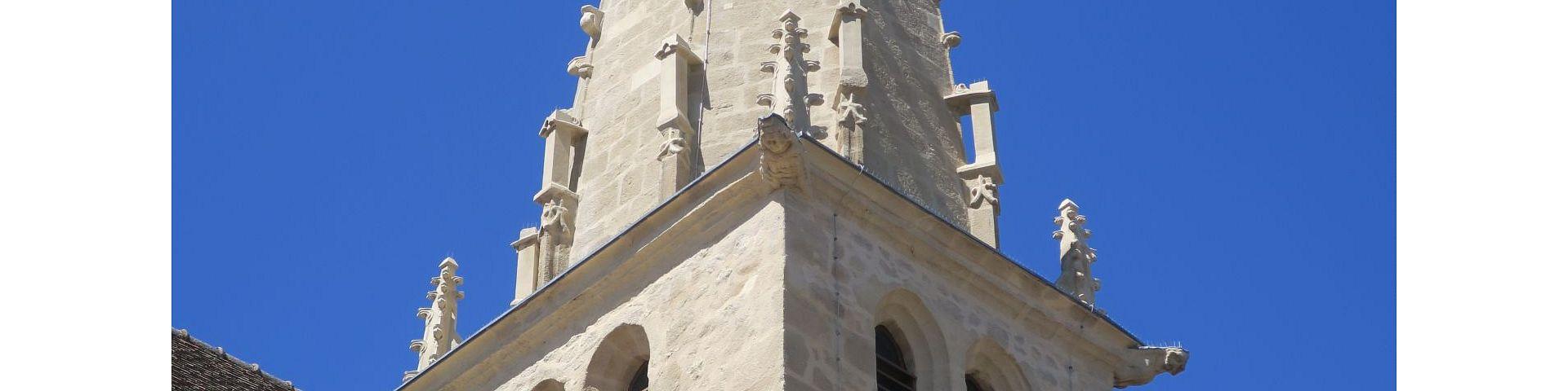 Saint-Léger-sur-Dheune - Eglise St-Léger (71)