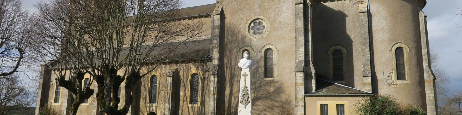 Guipy - Eglise Saint-Germain d'Auxerre (58)
