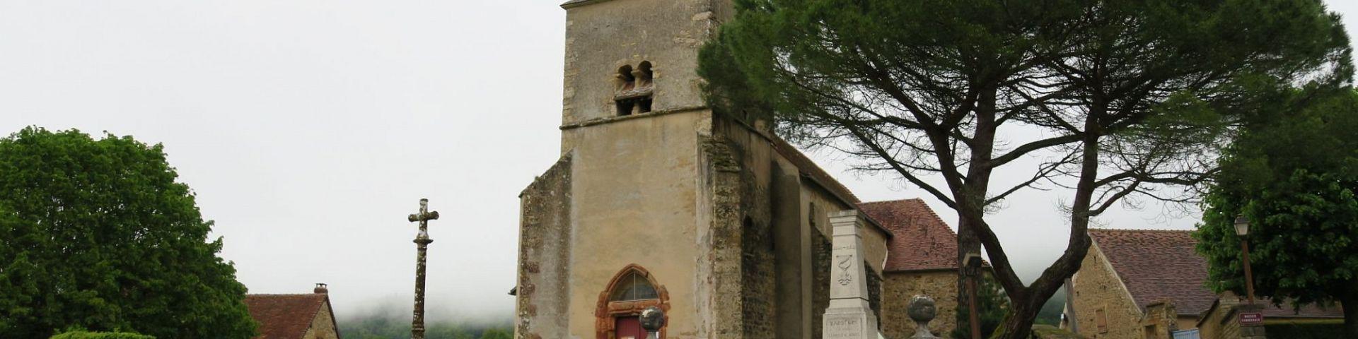 Bazoches - Eglise St-Hilaire (58)