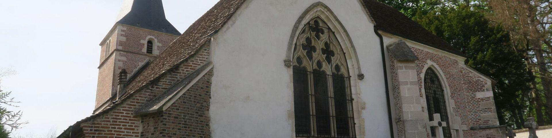 Auvillars-sur-Saône - Eglise Sainte-Madeleine (21)